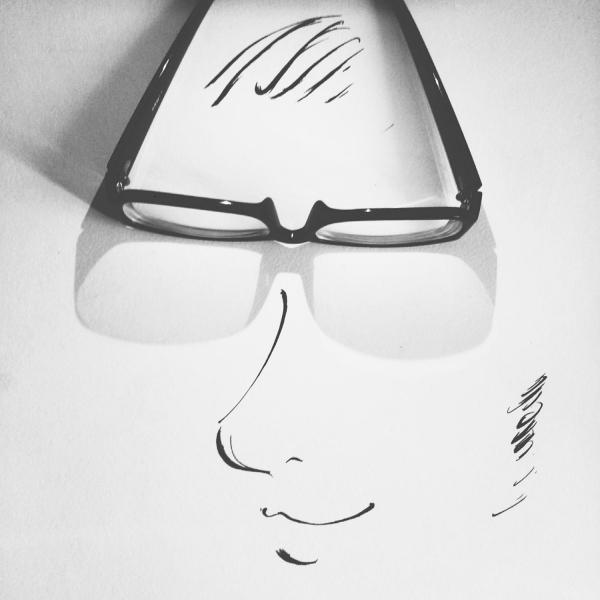 制造不一样的新鲜感:在影子上面涂鸦