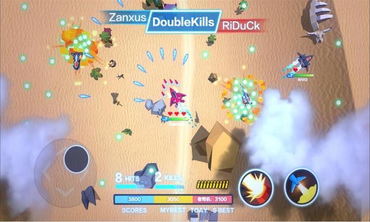 【miui资源组】飞机大作战:游戏采用经典的空战题材