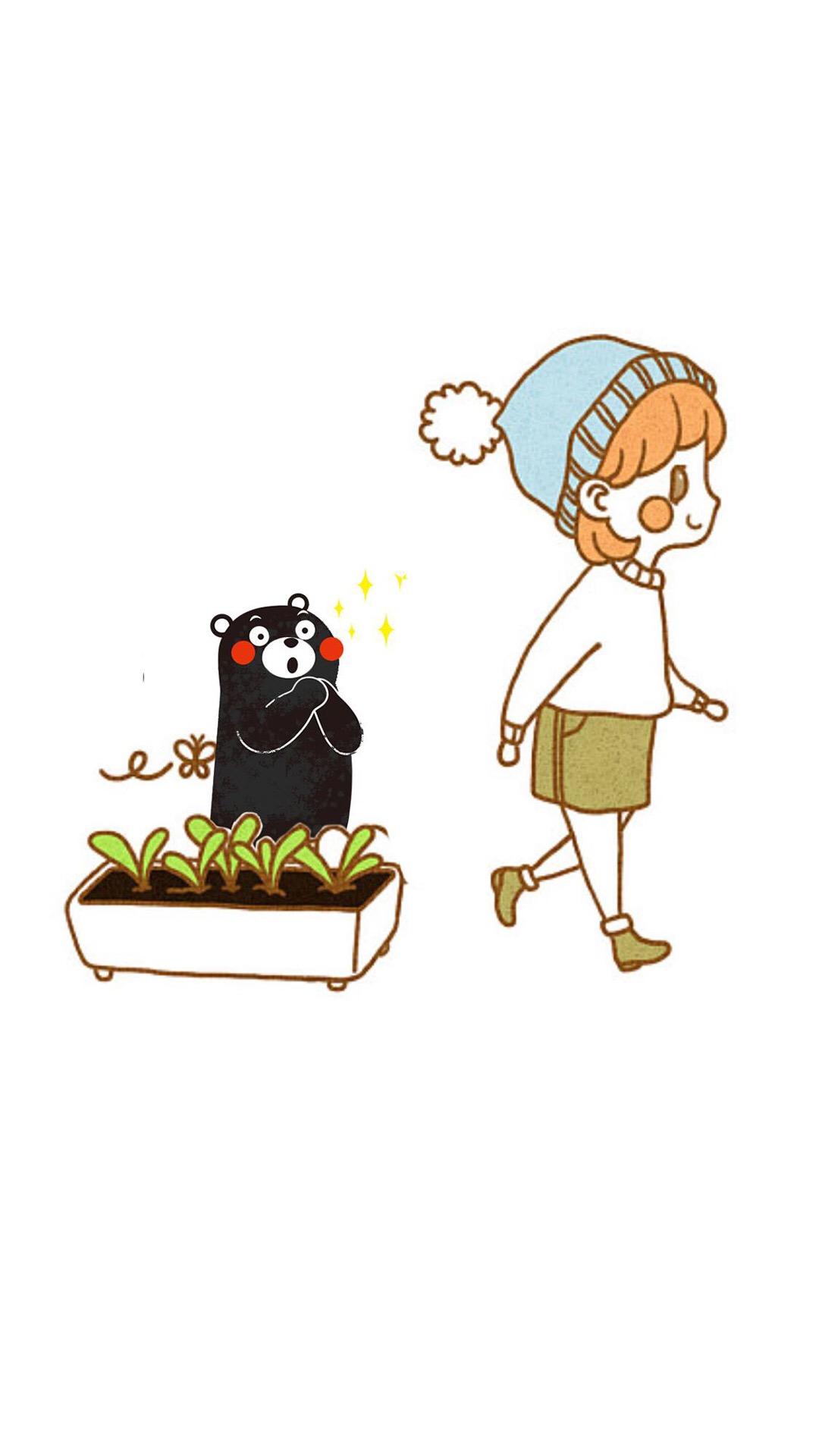 「资源组」可爱熊本熊【9p】-主题壁纸-flyme社区