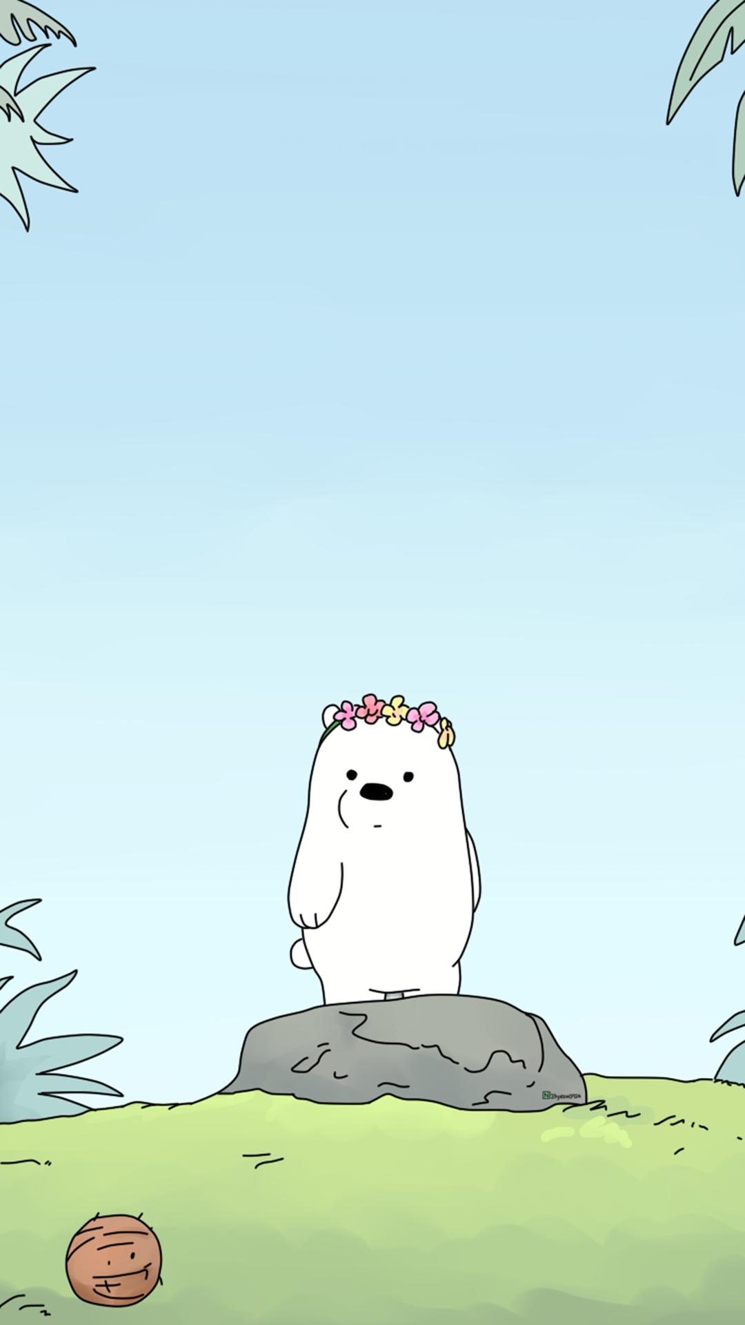 「资源组」可爱裸熊【9p】-主题壁纸-flyme社区