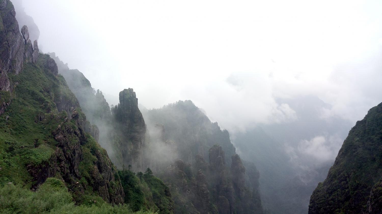 神农谷的浓雾