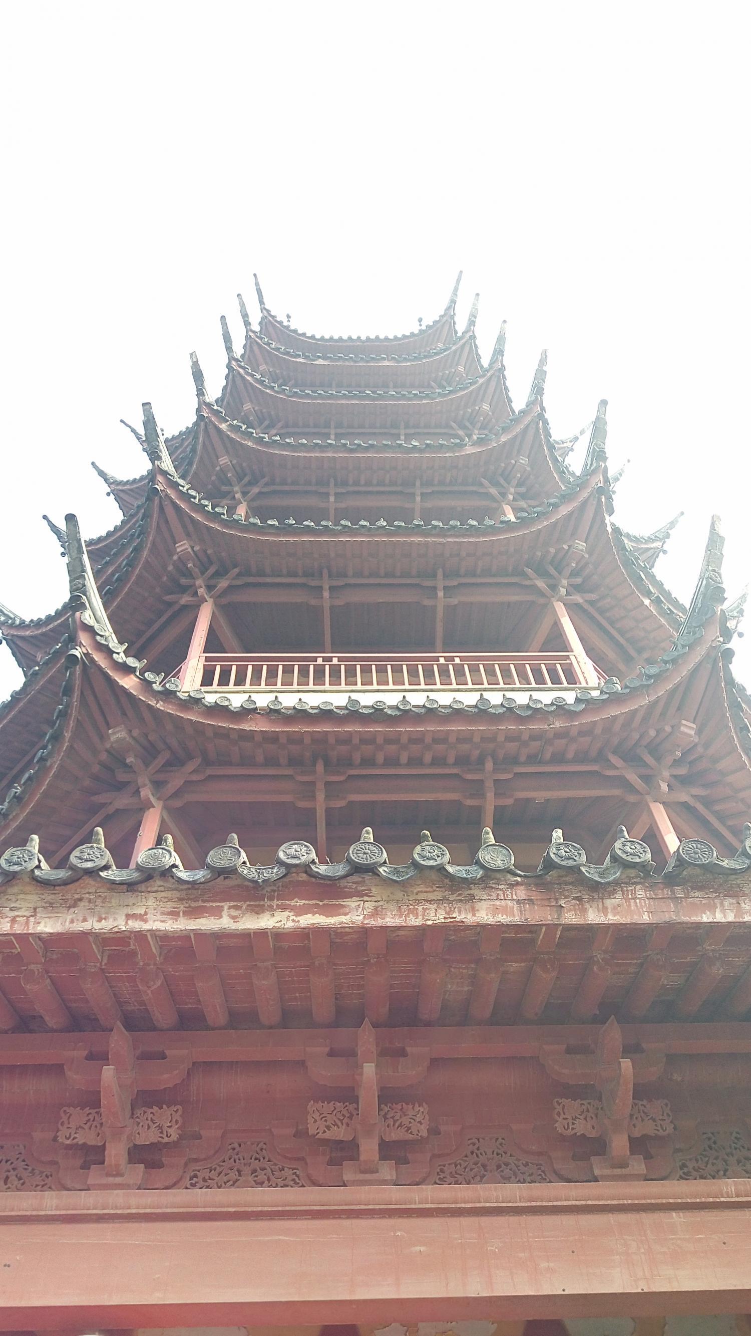 常州红梅公园的塔