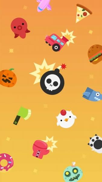 旋转**spin bomb安卓版是一款画面可爱容易上手的休闲游戏,将旋转中的
