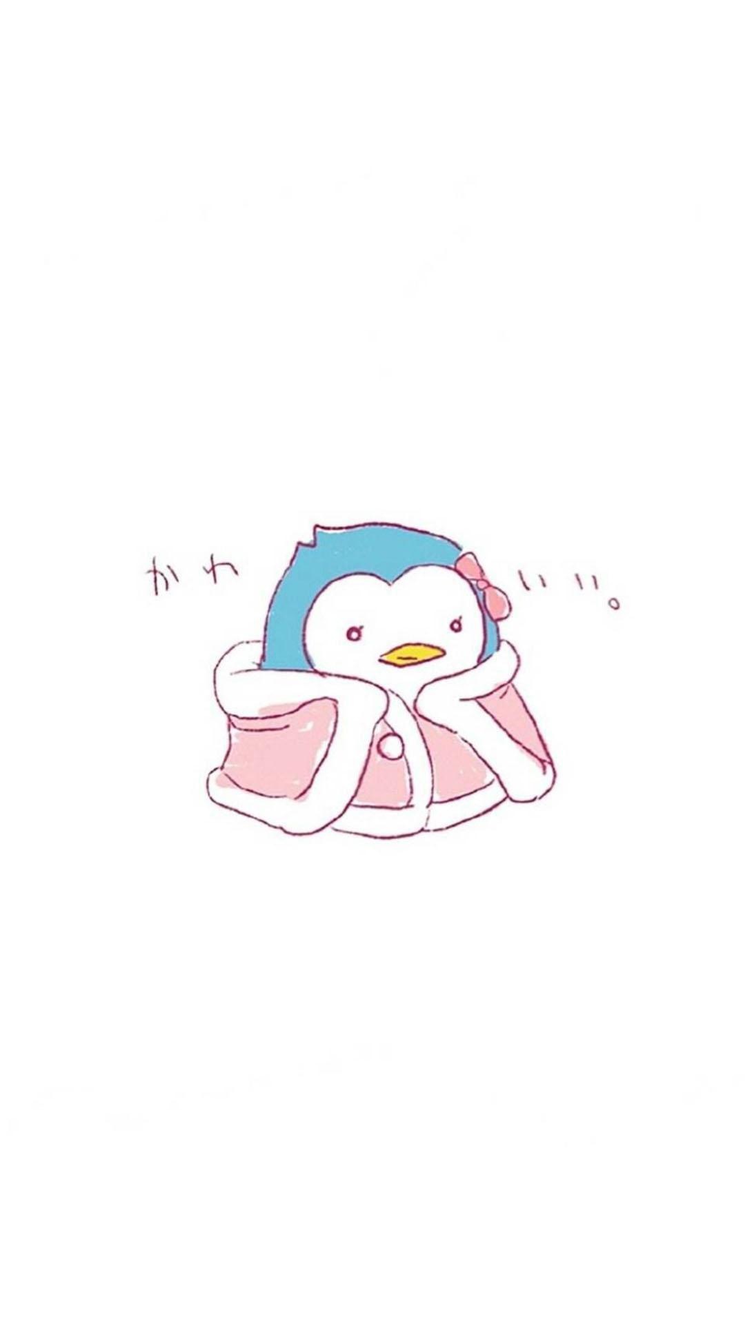「资源组」手绘可爱企鹅【8p】